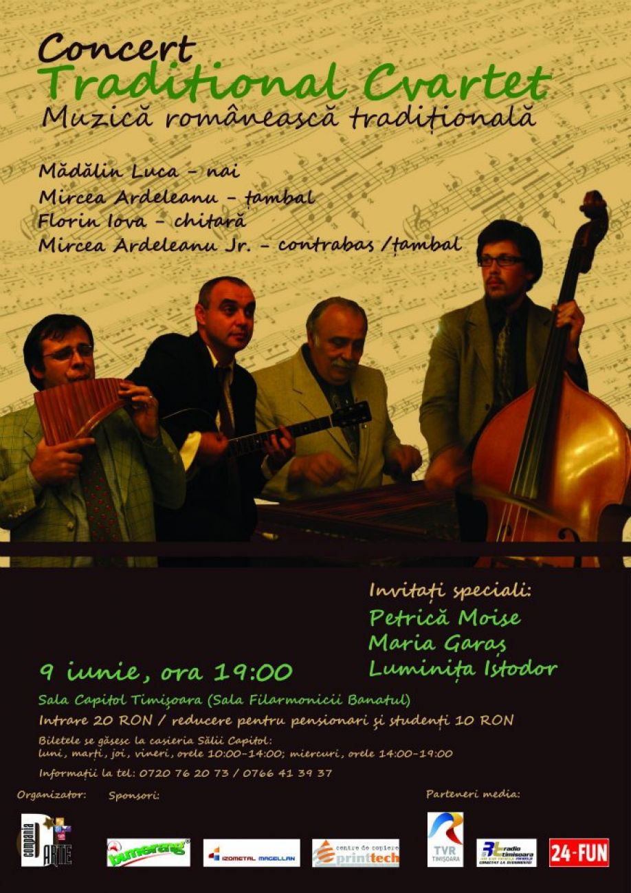 Concert Traditional cvartet