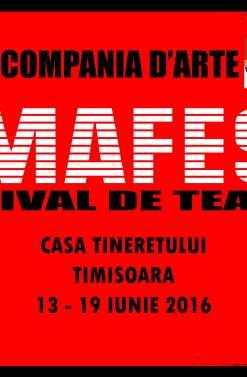 """Programul Festivalului National de Teatru pentru Amatori """"AMAFEST"""""""