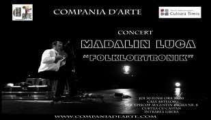 FOLKLORtronik- concert de nai si instrumente electronice - Madalin Luca