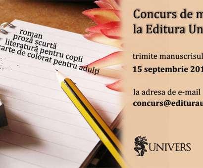 Concurs de literatura la Editura Univers